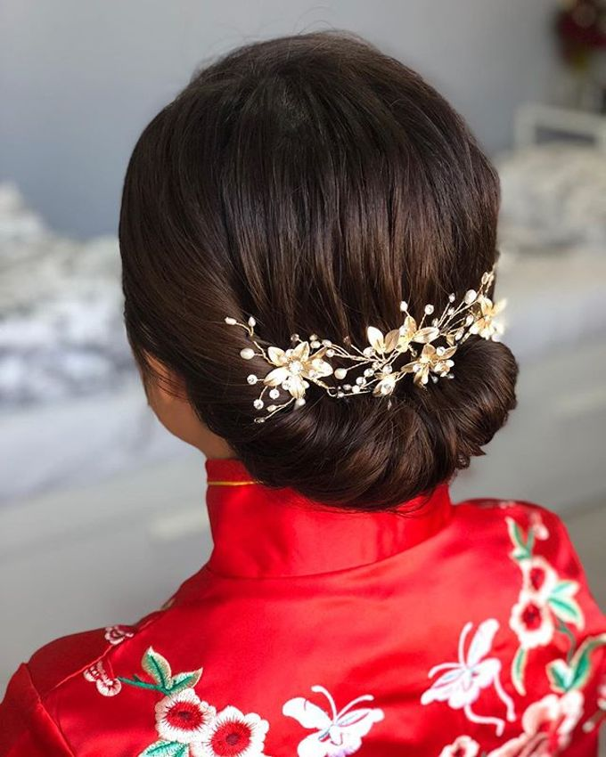 Chinese Traditional Makeup And Hairstyle By Mod 21 Bridestory Com