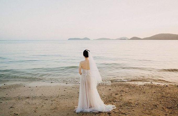 Phuket Beach Wedding of Lisa & William by Hipster Wedding - 001