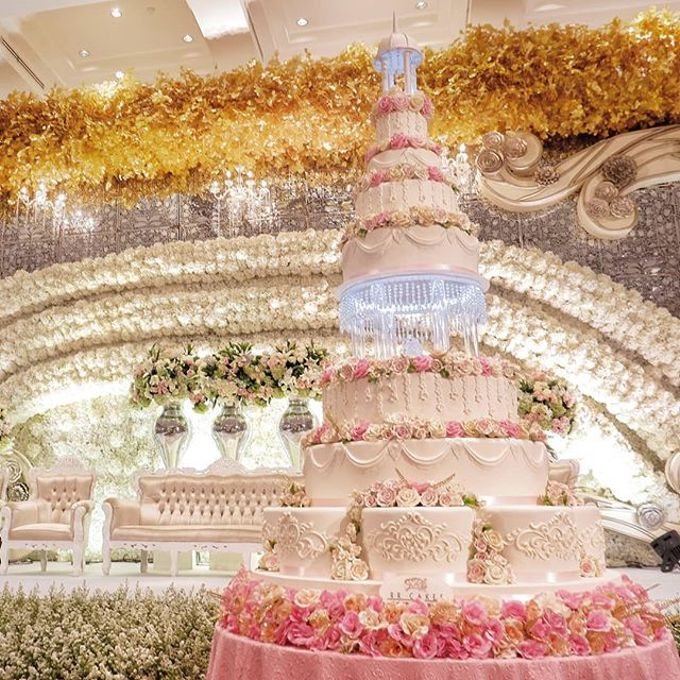 Wedding Cake - Real Wedding by RR CAKES - 040