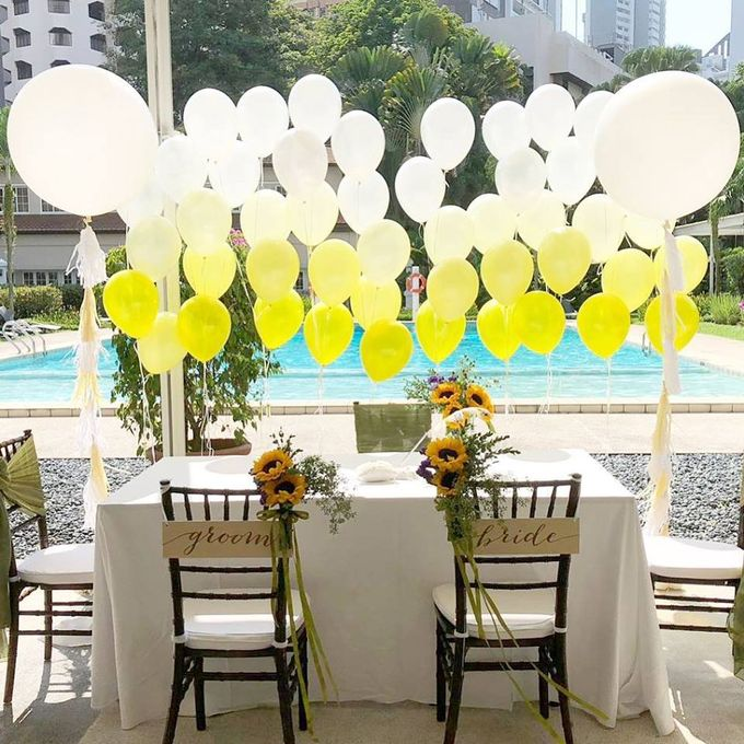 Solemnisation Table by Balloon Blasters - 002