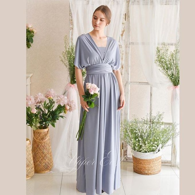 Infinity dress, one dress can be styled in 20 ways by upper east bridesmaid - 007