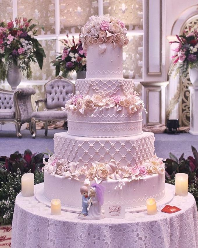 Wedding Cake - Real Wedding by RR CAKES - 042
