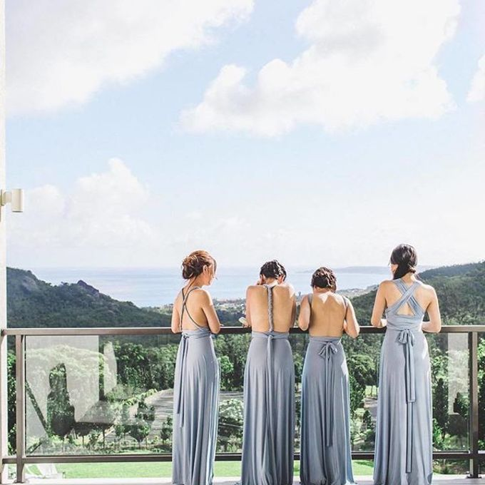 Infinity dress, one dress can be styled in 20 ways by upper east bridesmaid - 008