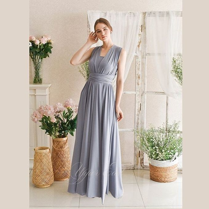 Infinity dress, one dress can be styled in 20 ways by upper east bridesmaid - 003