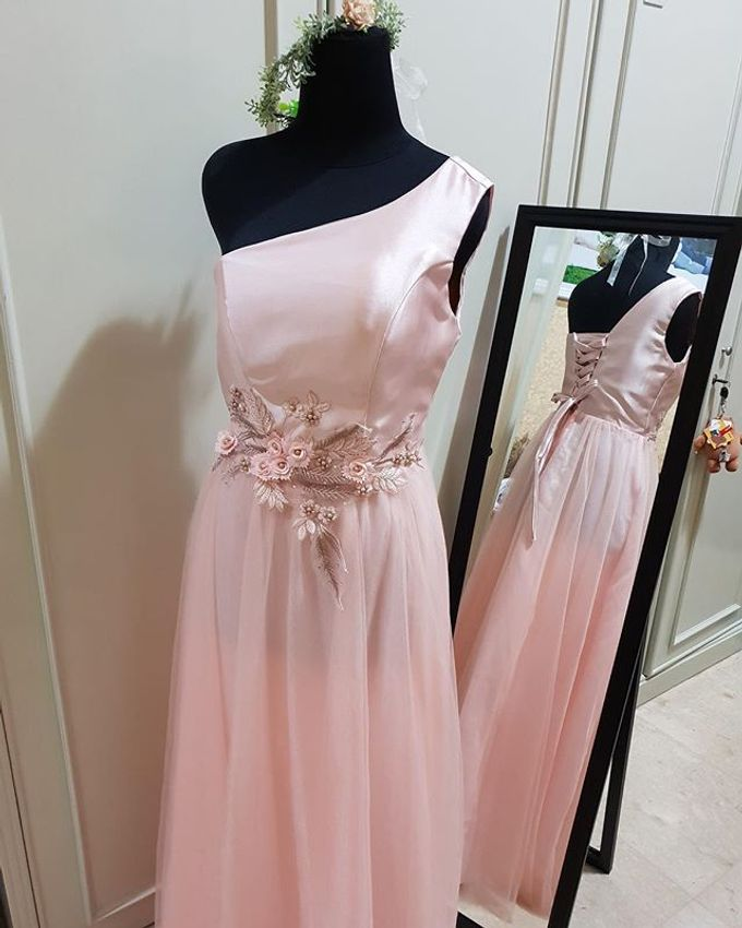 Pink And Rose Gold By Bridey Dresses For Rent Bridestory Com