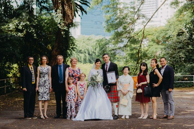 Scottish Wedding at Lewin Terrace by Hong Ray Photography - 004