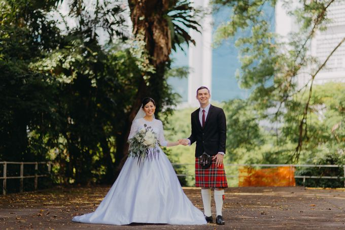Scottish Wedding at Lewin Terrace by Hong Ray Photography - 009