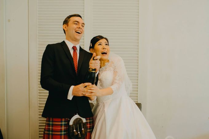 Scottish Wedding at Lewin Terrace by Hong Ray Photography - 019
