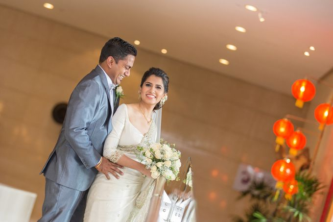 Wedding of Roshani & Charith by DR Creations - 022