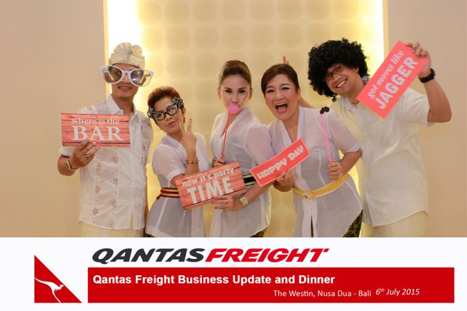 Qantas Freight Business Update and Dinner by Happy Moment PhotoBooth - 019