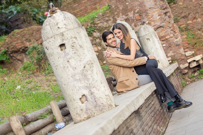 Engagement of Benedetta & Manolo by DR Creations - 035