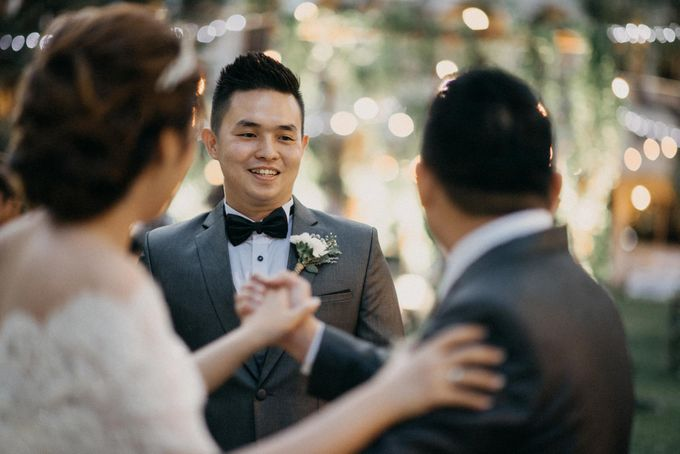 DAVID & FELICIA WEDDING by DHIKA by MA Fotografia - 045