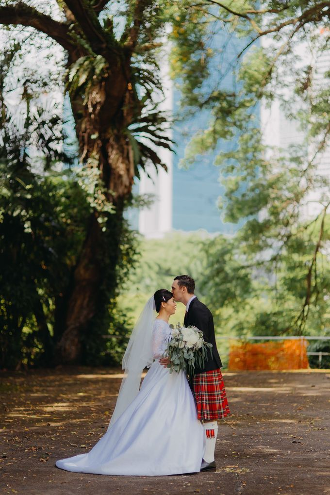Scottish Wedding at Lewin Terrace by Hong Ray Photography - 026