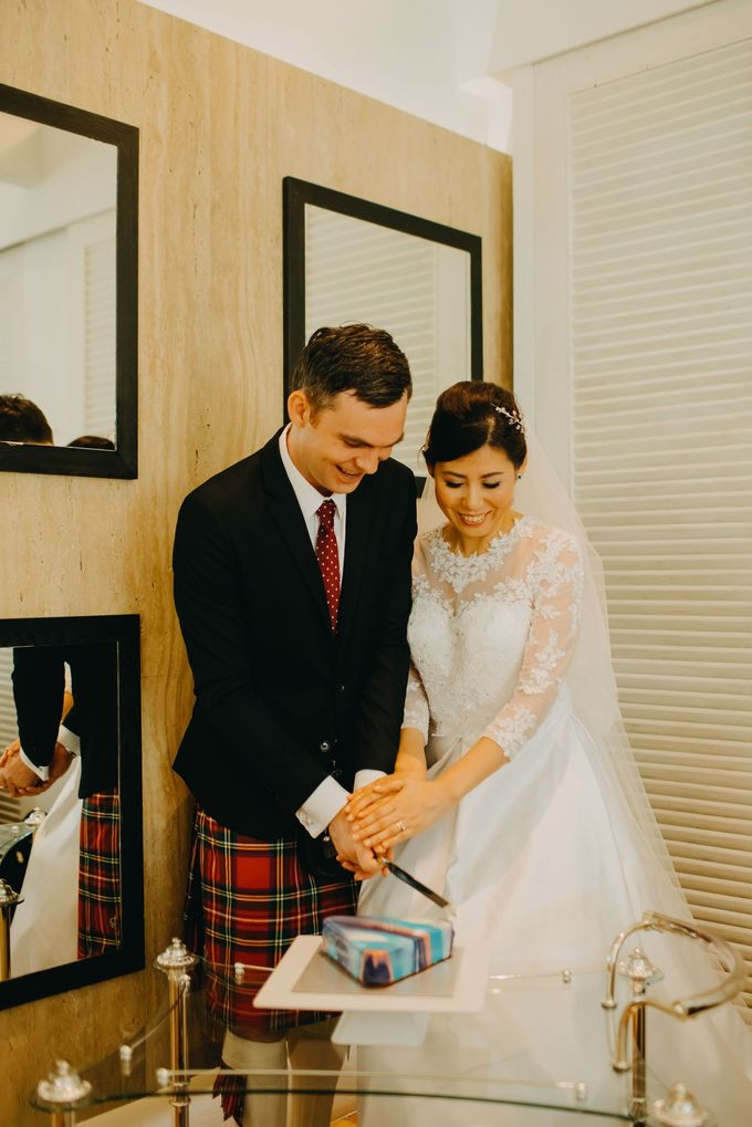 Scottish Wedding at Lewin Terrace by Hong Ray Photography - 034
