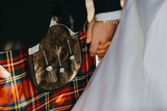 Scottish Wedding at Lewin Terrace by Hong Ray Photography - 035
