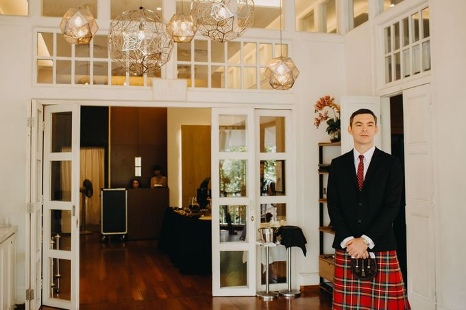 Scottish Wedding at Lewin Terrace by Hong Ray Photography - 037