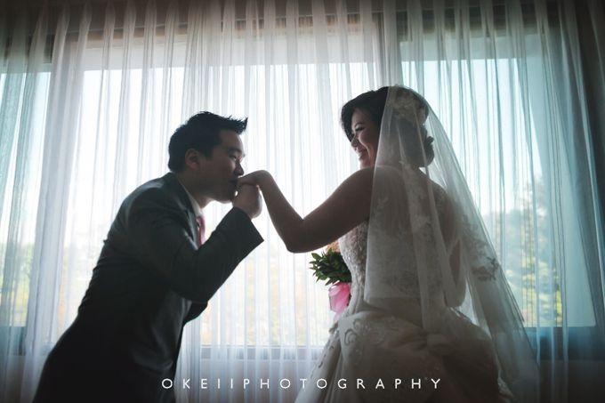 Alvin & Novi Wedding Day by Okeii Photography - 012