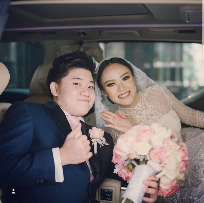 The Wedding Of Jordy & Felicia by Priority Rent car - 001