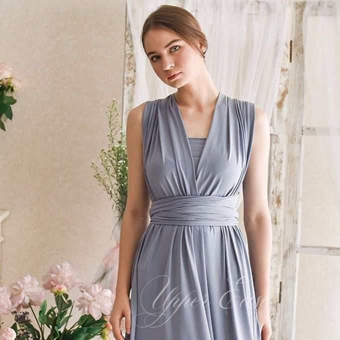 Infinity dress, one dress can be styled in 20 ways by upper east bridesmaid - 005