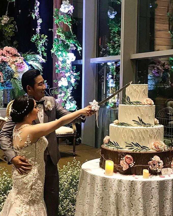 Wedding Cake - Real Wedding by RR CAKES - 034