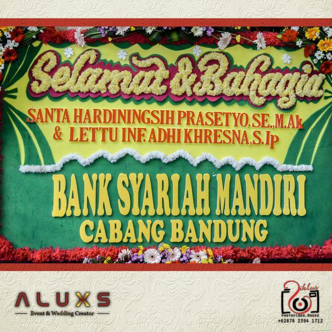 The Wedding of Santa & Khresna by Alux's Event & Wedding Creator - 010