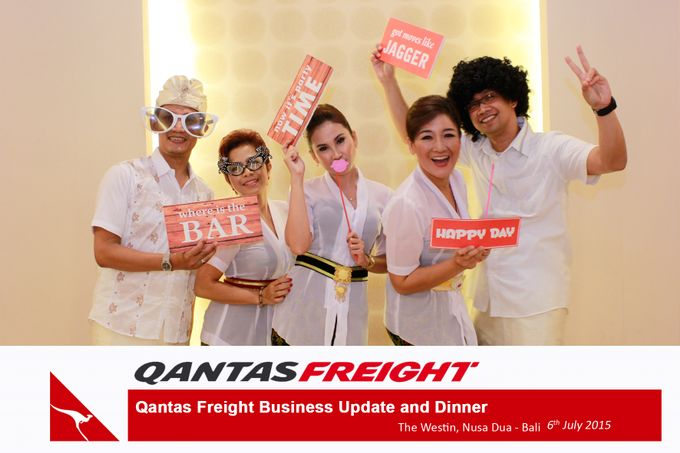 Qantas Freight Business Update and Dinner by Happy Moment PhotoBooth - 020