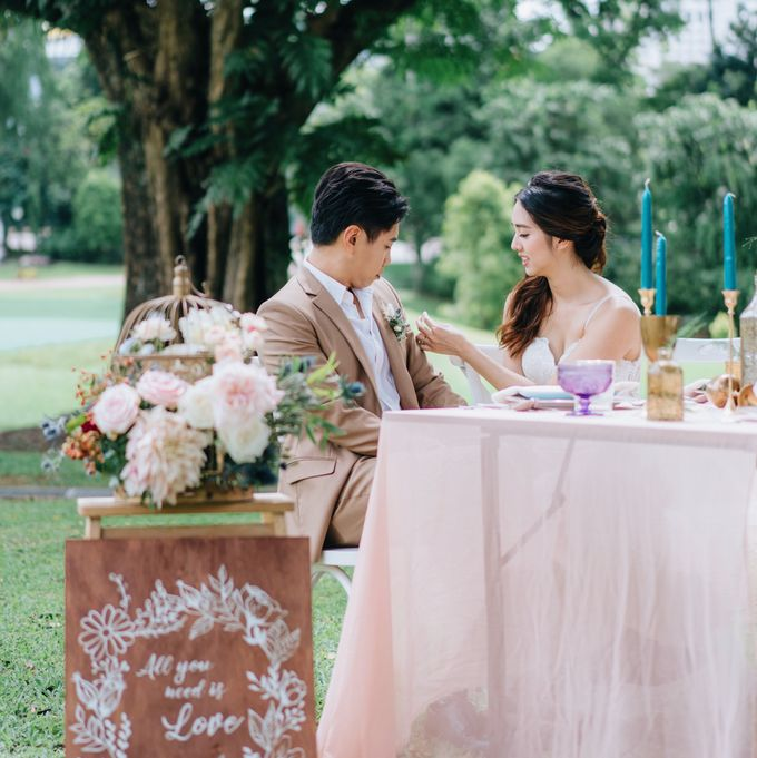 Dreamy and Whimsical Styled Shoot by O'hara Weddings - 016