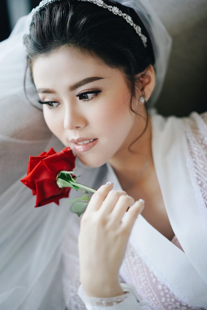 Wedding Day by Dicky - Raven Melisa by DONNY LIEM The Make Up Art - 005