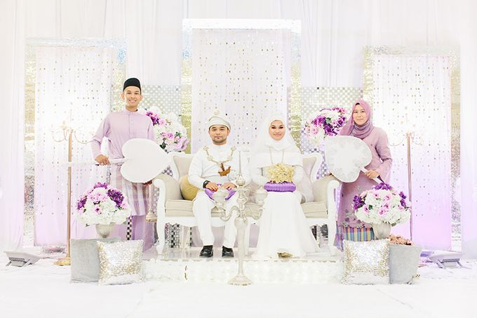 Sharifah Zarah Hanis & Alif Fitri by ankl.co | Lifestyle & Wedding Photography - 004