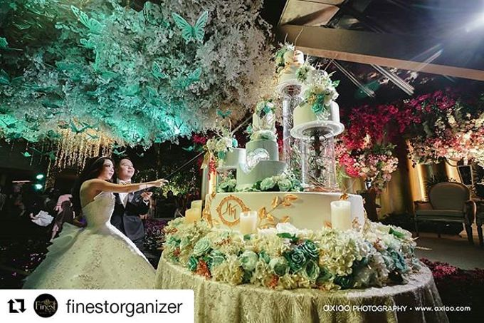 Wedding Cake - Real Wedding by RR CAKES - 035