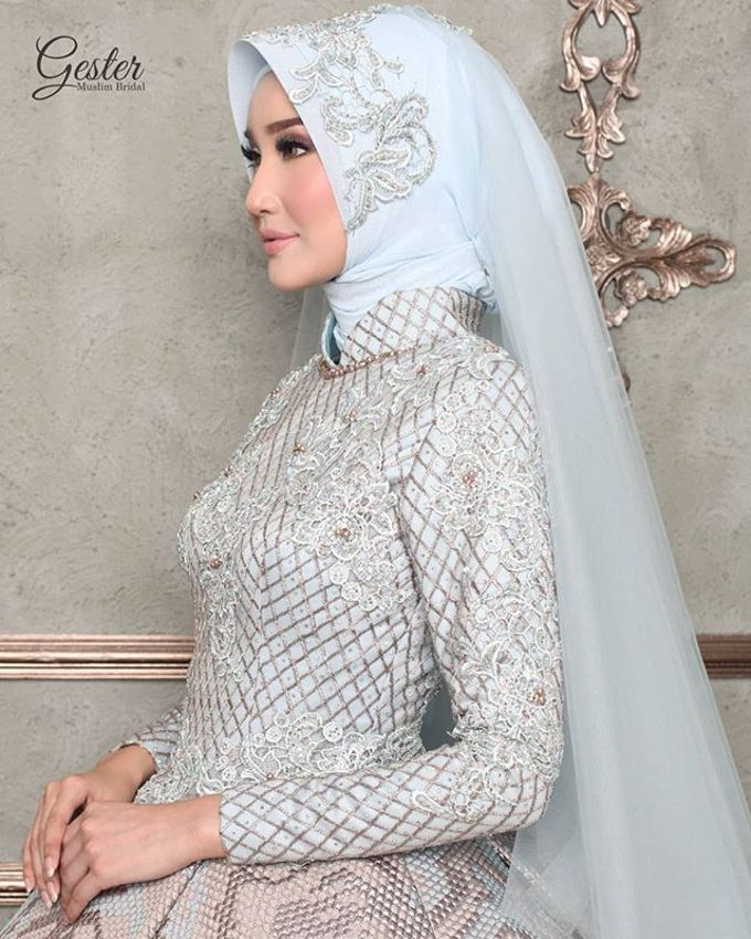 Gester Muslim Bridal by Gester Bridal & Salon Smart Hair - 027