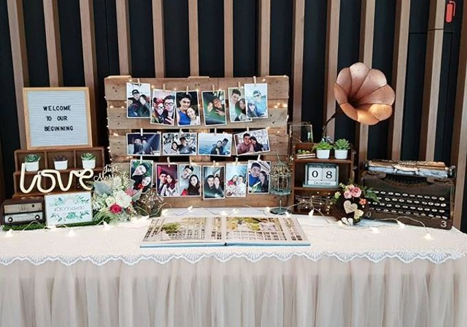Photo Album Table  Styling by Jcraftyourevents by Jcraftyourevents - 011
