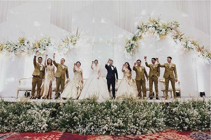 Harris and Maya wedding day by Indonesia Convention Exhibition (ICE) - 002