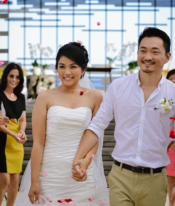 Wedding Makeup by Wei Makeup Artist - 008