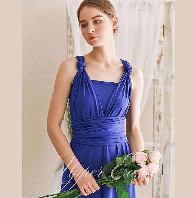 Infinity dress, one dress can be styled in 20 ways by upper east bridesmaid - 013