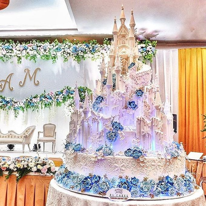 Wedding Cake - Real Wedding by RR CAKES - 036