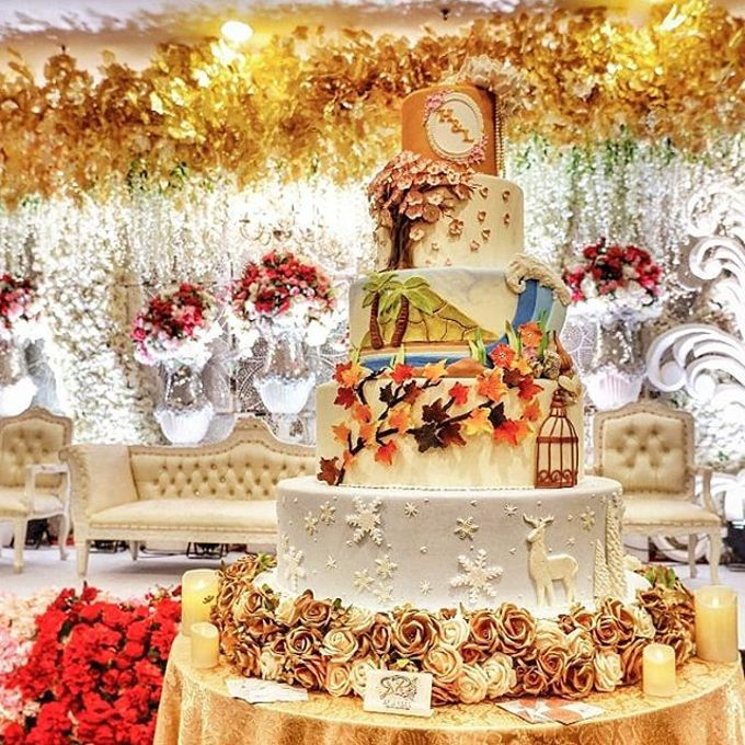 Wedding Cake - Real Wedding by RR CAKES - 030