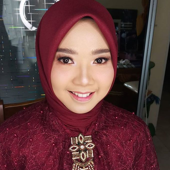 makeup natural nggk cukur alis by husna_makeup - 010