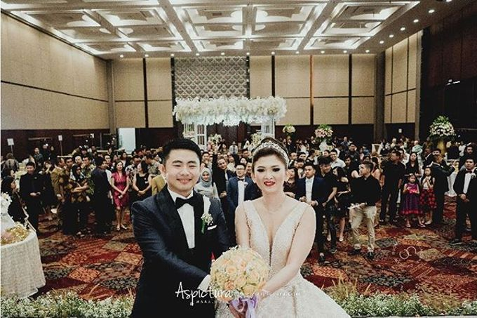 Harris and Maya wedding day by Indonesia Convention Exhibition (ICE) - 003