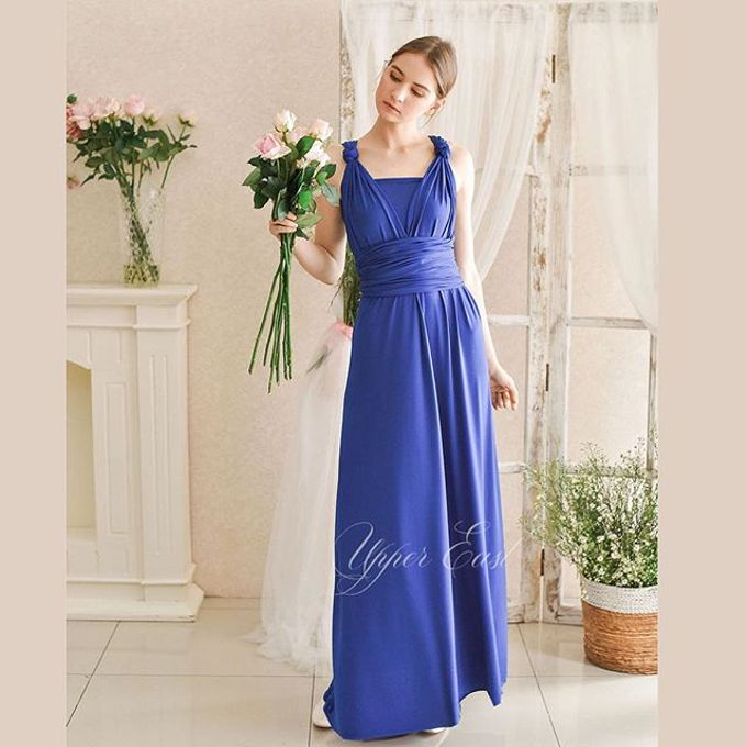 Infinity dress, one dress can be styled in 20 ways by upper east bridesmaid - 011