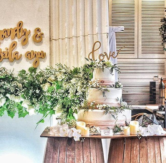 Wedding Cake - Real Wedding by RR CAKES - 031
