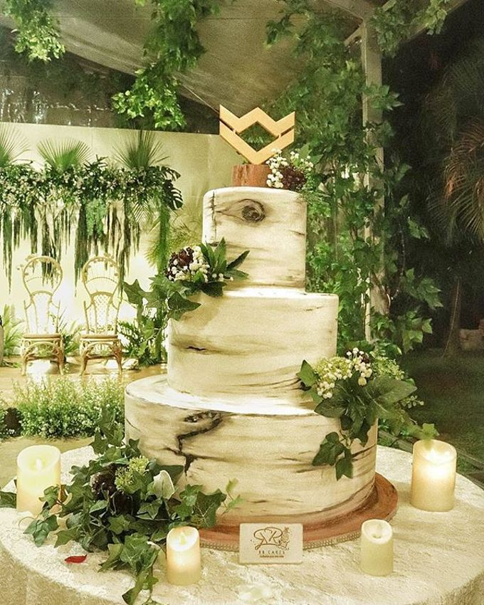 Wedding Cake - Real Wedding by RR CAKES - 033
