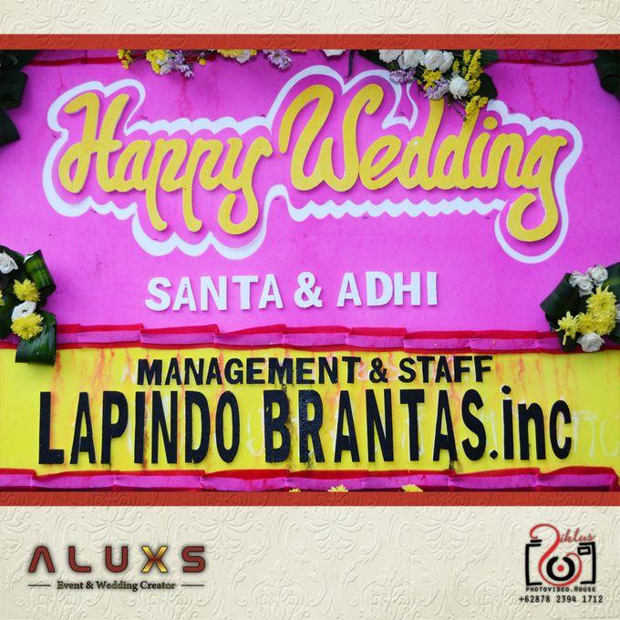 The Wedding of Santa & Khresna by Alux's Event & Wedding Creator - 001
