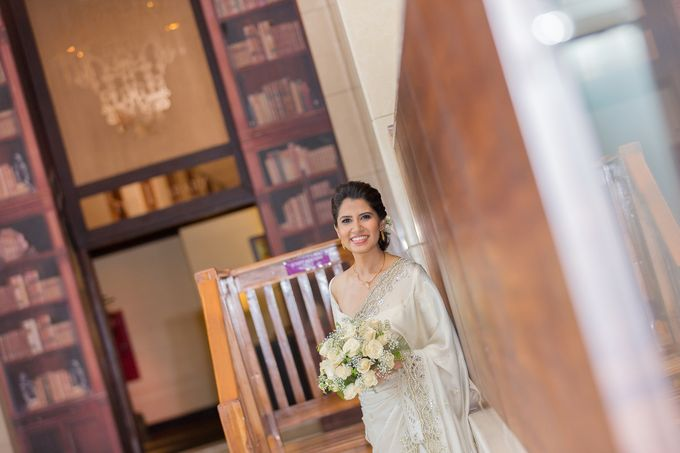 Wedding of Roshani & Charith by DR Creations - 023