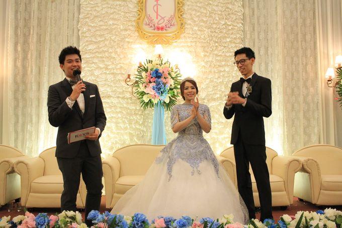 MC Wedding Prisma Ballroom Jakarta - Anthony Stevven by Tracy Bridal House - 011