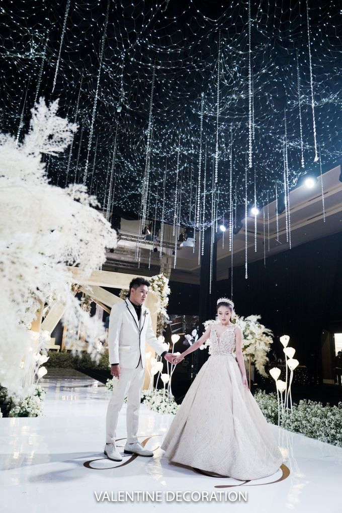 Jason & Devina Wedding Decoration by Valentine Wedding Decoration - 039