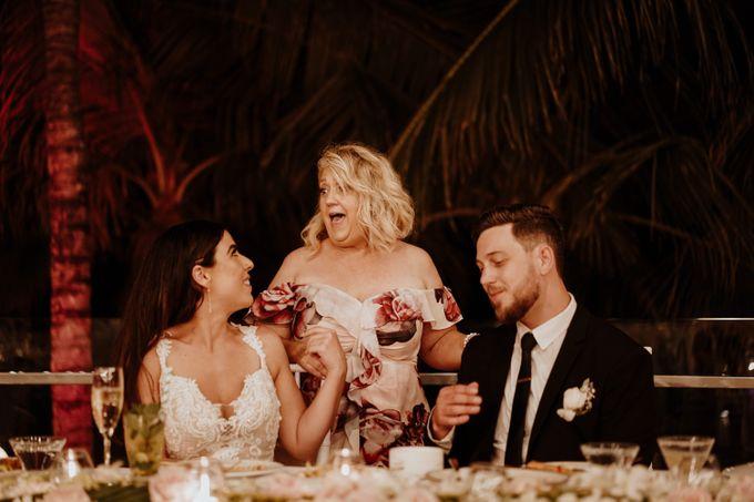 Mindy & Cameron Wedding at W Hotel Bali by AKSA Creative - 047