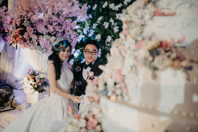 Andre & Elvira Wedding by Dhika by MA Fotografia - 044