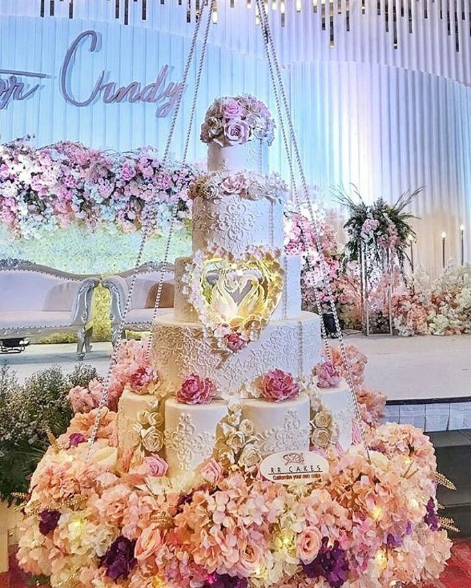 Wedding Cake - Real Wedding by RR CAKES - 032