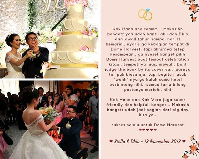 Wedding Experience at Dome Harvest Lippo Karawaci Tangerang by Dome Harvest - 005